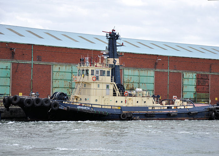 Ashgarth pictured in Liverpool Docks on 22nd June 2013
