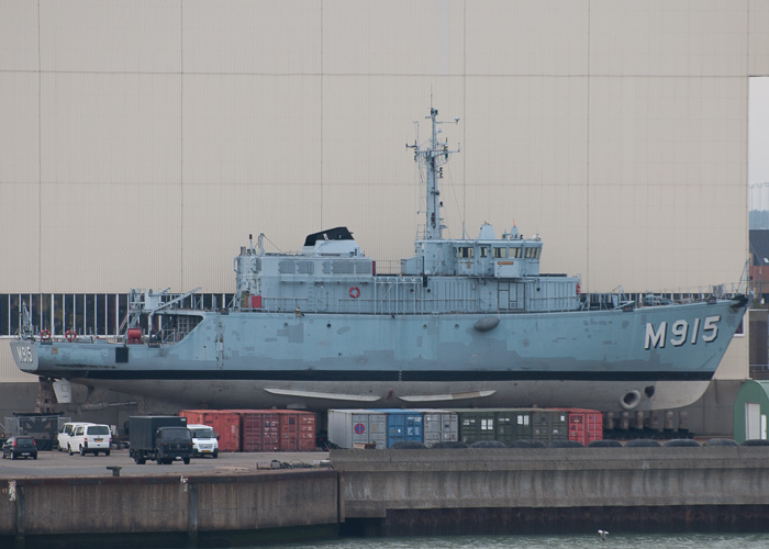 Aster pictured at Zeebrugge on 19th July 2014