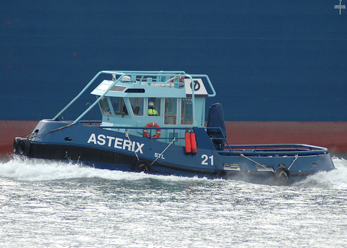 Asterix pictured at Fawley on 13th June 2009