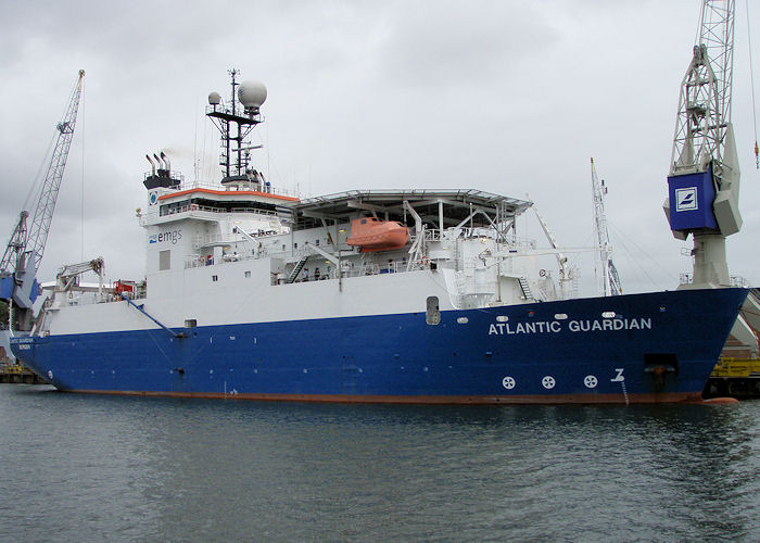 Atlantic Guardian pictured in Waalhaven, Rotterdam on 20th June 2010
