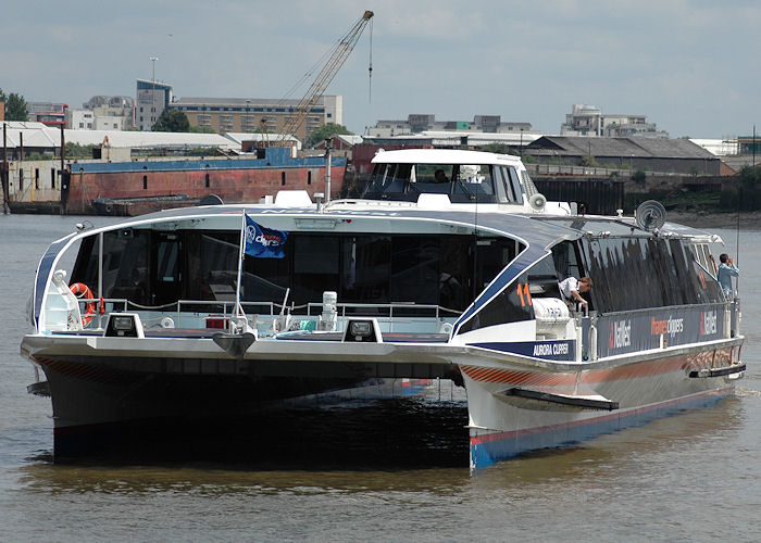 Aurora Clipper pictured in London on 14th June 2009