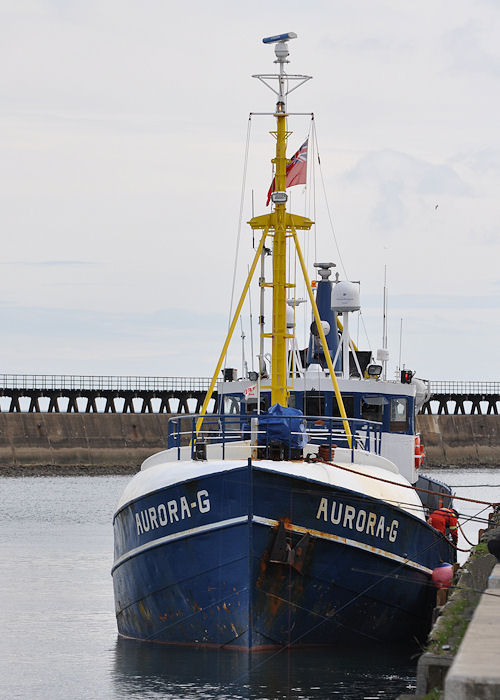 Aurora G pictured at Blyth on 21st August 2013