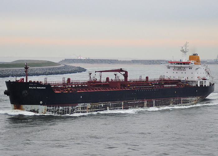 Baltic Monarch pictured approaching Europoort on 28th June 2011