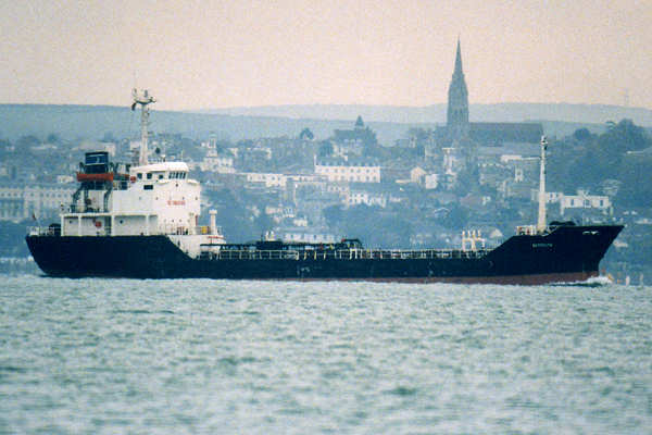 Barmouth pictured in the Solent on 21st November 1999