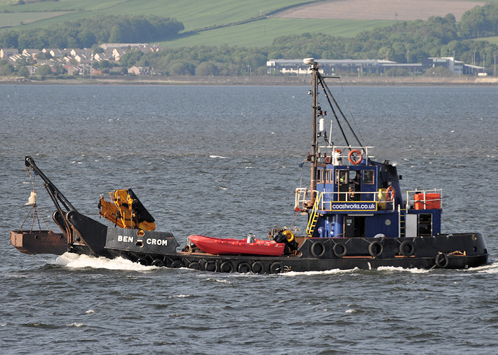 Ben Crom pictured passing Greenock on 2nd June 2012
