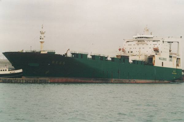 Bess pictured in Southampton on 14th September 1999