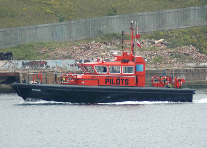 Bewick pictured at North Shields on 12th June 2007