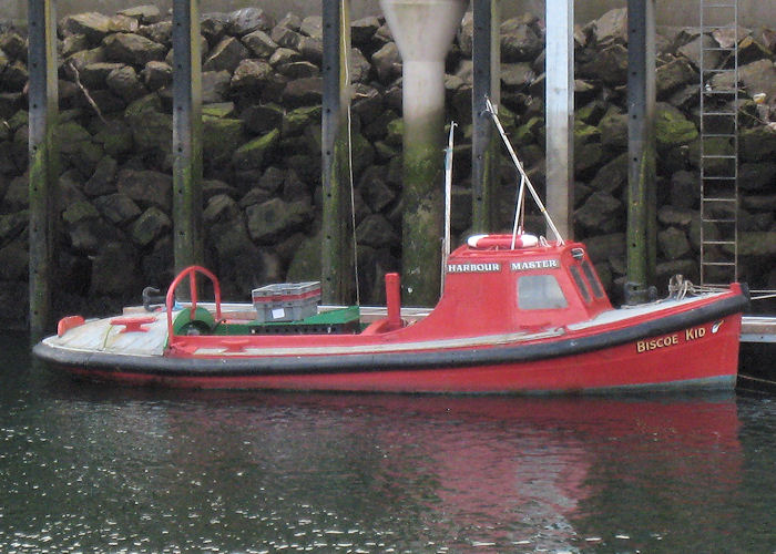 Biscoe Kid pictured at Eyemouth on 21st March 2010