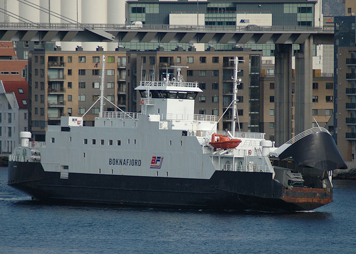 Boknafjord pictured arriving at Stavanger on 5th May 2008