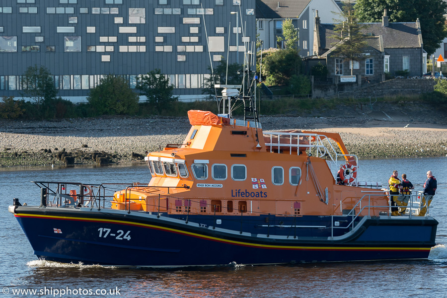 Bon Accord pictured at Aberdeen on 19th September 2015