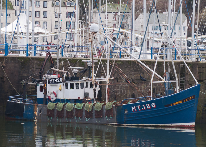 Bonnie Lass III pictured at Whitehaven on 22nd March 2014