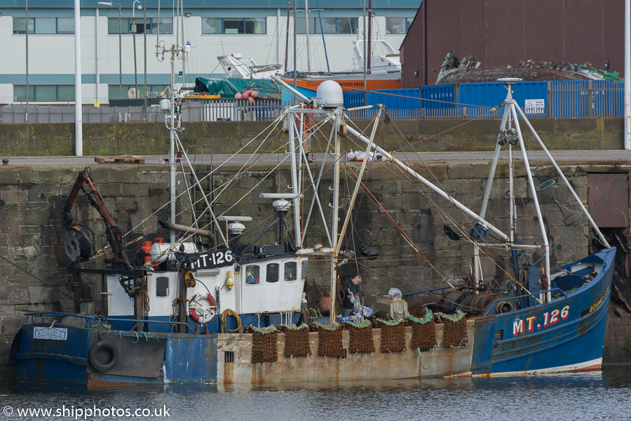 Bonnie Lass III pictured at Whitehaven on 8th March 2015
