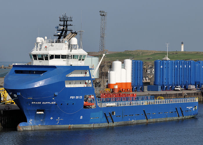 Brage Supplier pictured at Aberdeen on 7th May 2013