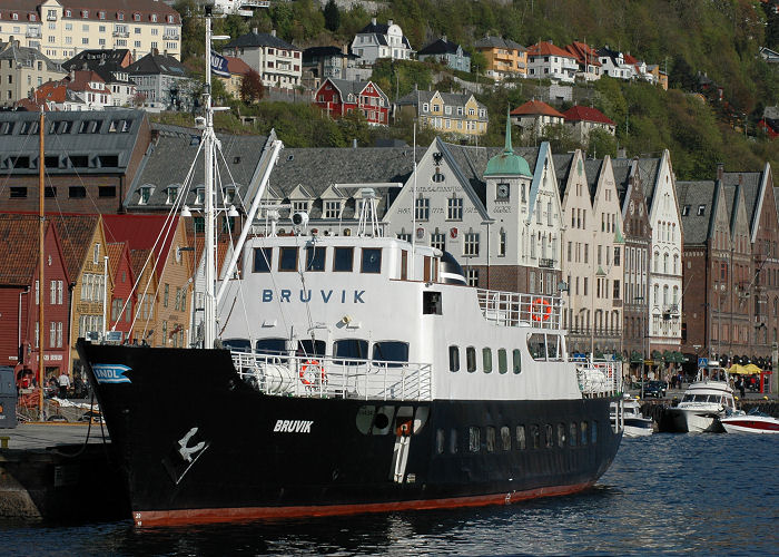 Bruvik pictured in Bergen on 12th May 2005
