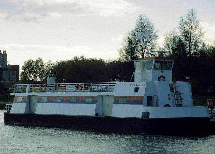 Burg Van Lier pictured at Vlaardingen on 20th April 1997