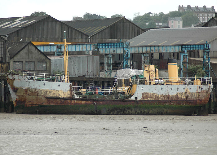 C 632 pictured laid up at Gravesend on 17th May 2008