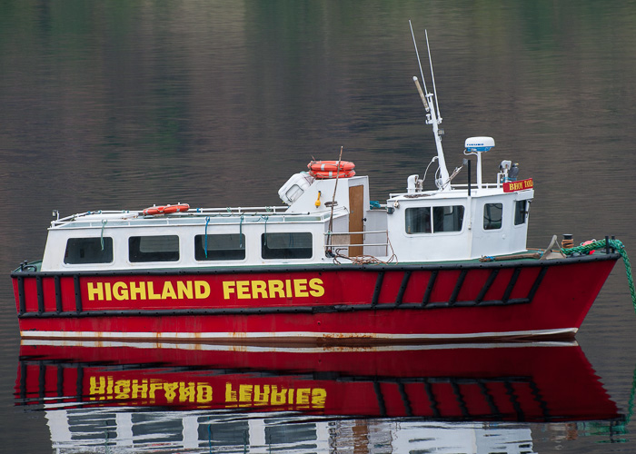 Cailin An Aiseag pictured at Fort William on 11th May 2014