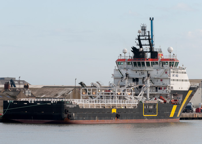 Caledonian Vigilance pictured at Montrose on 10th October 2014