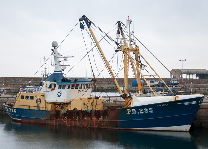 Calisha pictured at Buckie on 5th May 2014