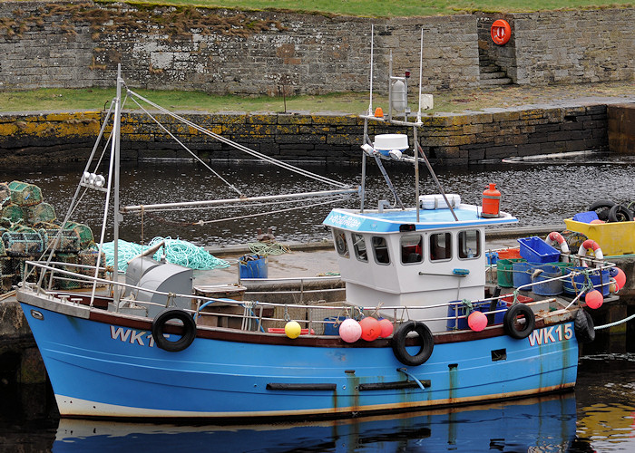 Calypso pictured at Lybster on 11th April 2012