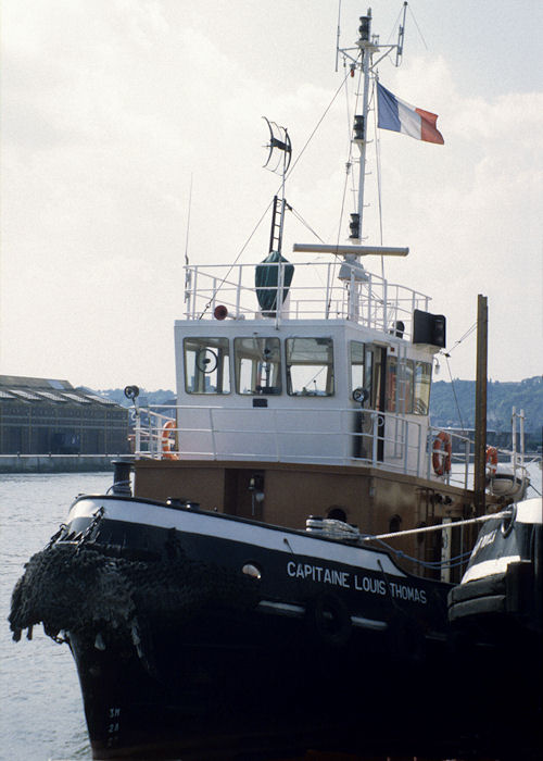 Capitaine Louis Thomas pictured at Rouen on 16th August 1997
