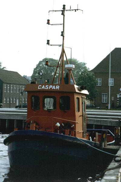Caspar pictured in Kolding on 28th May 1998