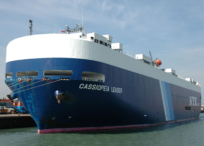 Cassiopeia Leader pictured in Southampton on 22nd April 2006