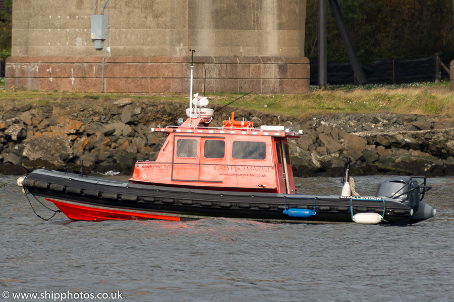 Challenger pictured at Queensferry on 17th September 2015