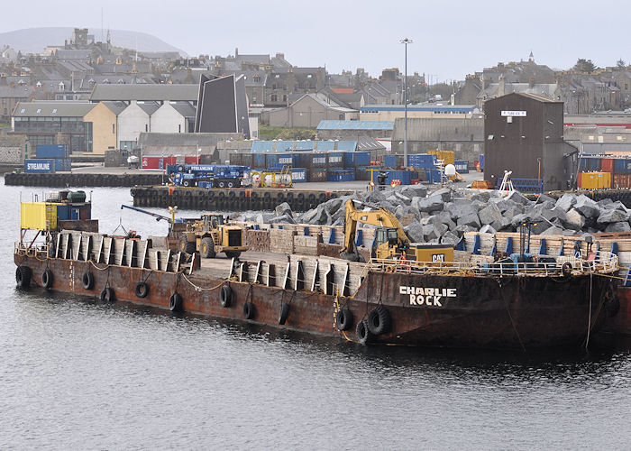 Charlie Rock pictured at Lerwick on 10th May 2013