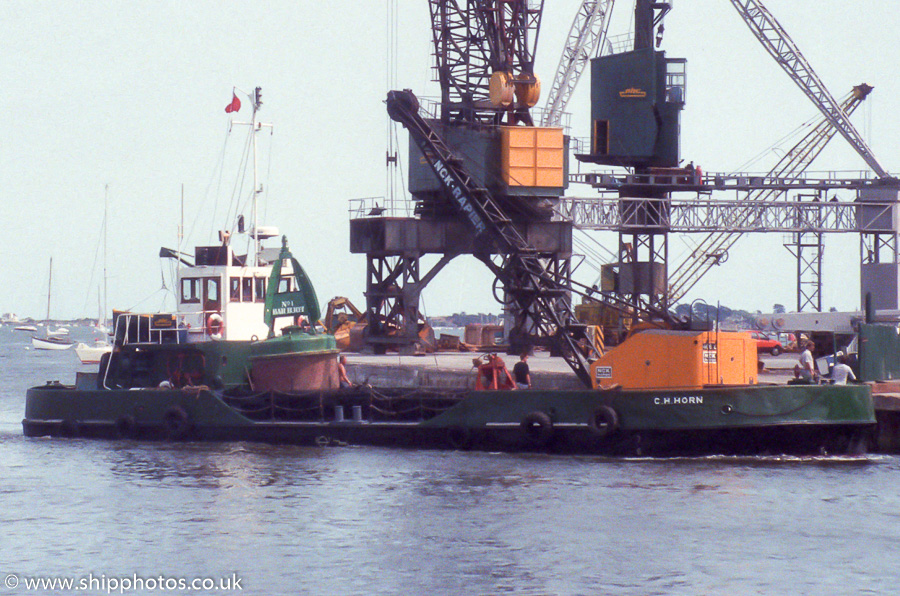 C.H. Horn pictured in Poole on 27th February 1994