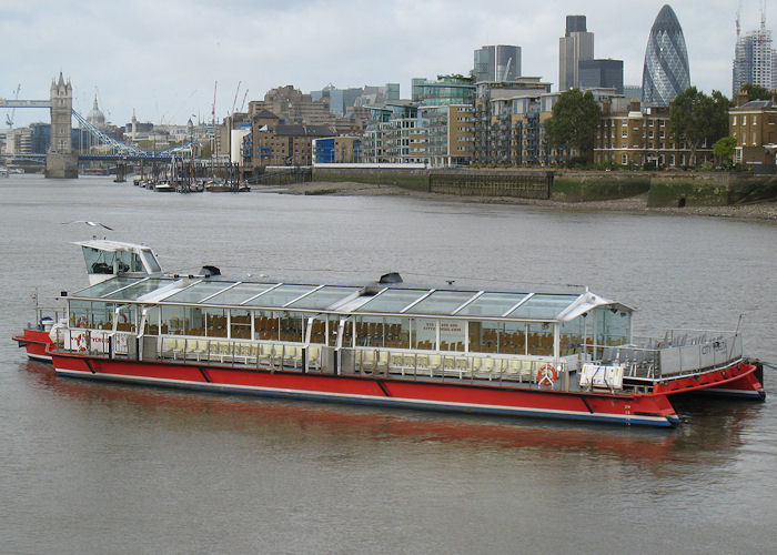 City Delta pictured in London on 25th October 2009