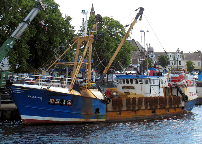Clasina pictured at Kirkcudbright on 7th July 2012