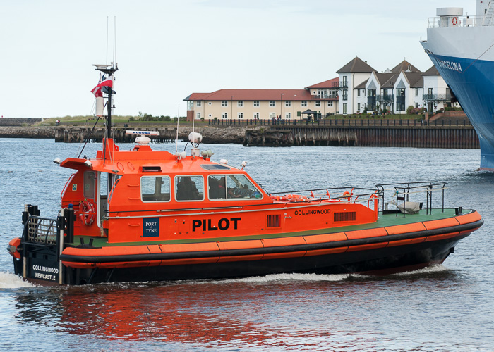 Collingwood pictured at North Shields on 22nd August 2014