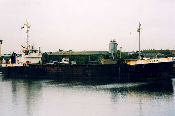Cork Sand pictured in Salford Docks on 6th June 2001