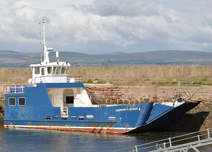 Cromarty Queen pictured at Cromarty on 14th April 2012