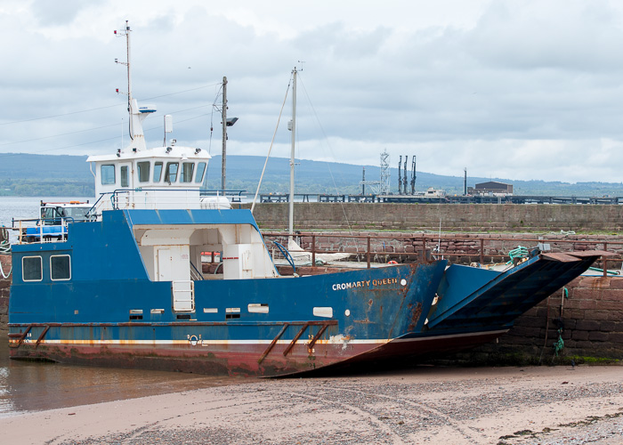 Cromarty Queen pictured at Cromarty on 10th May 2014