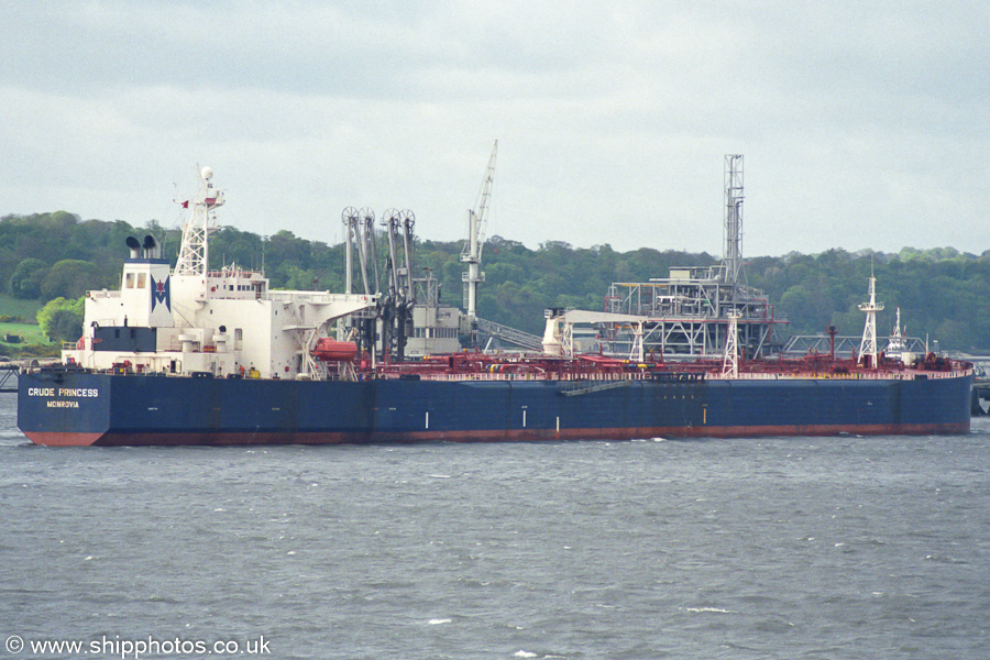 Crude Princess pictured at Hound Point on 8th May 2003