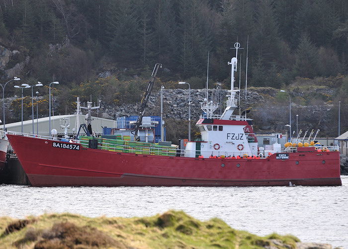 Cuca pictured at Lochinver on 13th April 2012