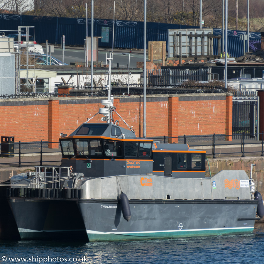Cwind Asherah pictured at Barrow-in-Furness on 8th March 2015