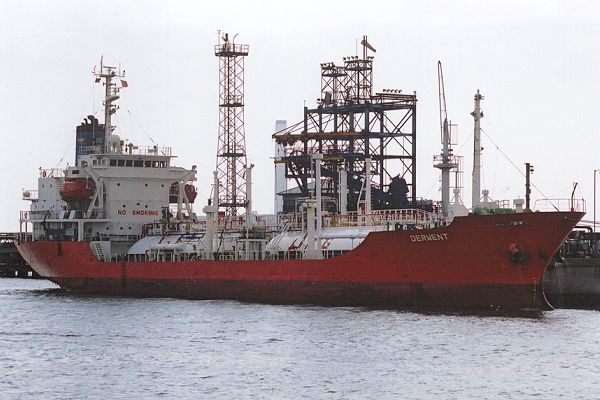 Derwent pictured at Fawley on 22nd September 2001