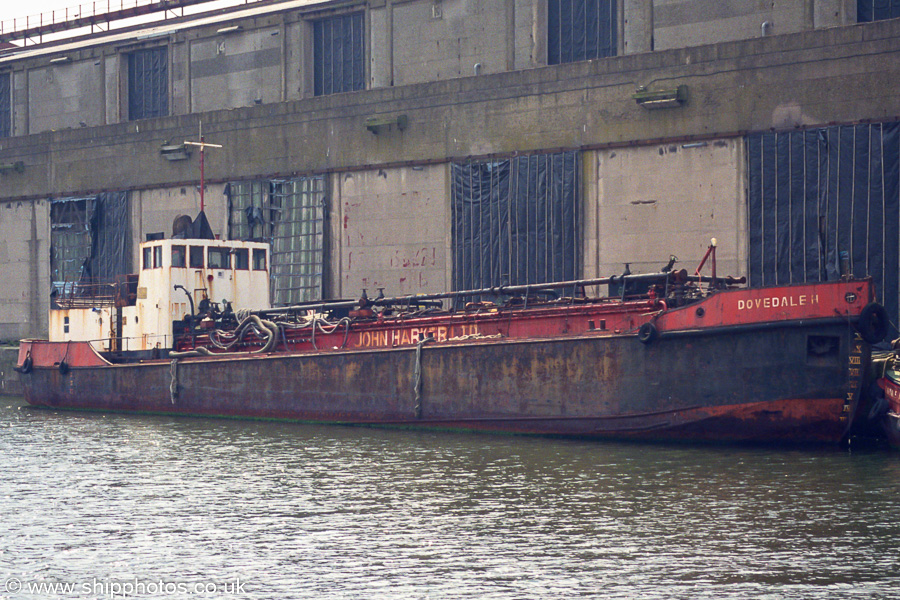 Dovedale H pictured laid up in Liverpool Docks on 14th June 2003