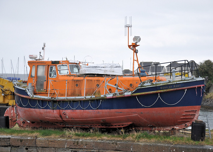 Duke of Kent pictured at Tayport on 18th April 2012