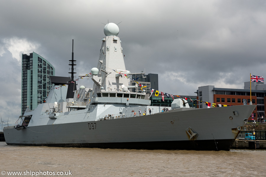 Duncan pictured at Pier Head, Liverpool on 25th June 2016