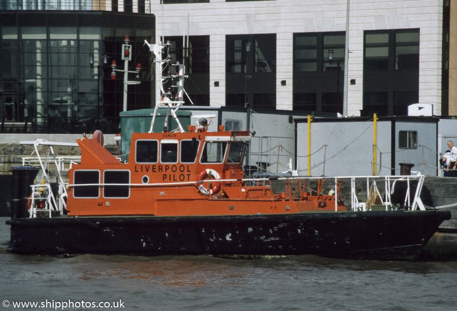 Dunlin pictured at Liverpool on 27th August 1998