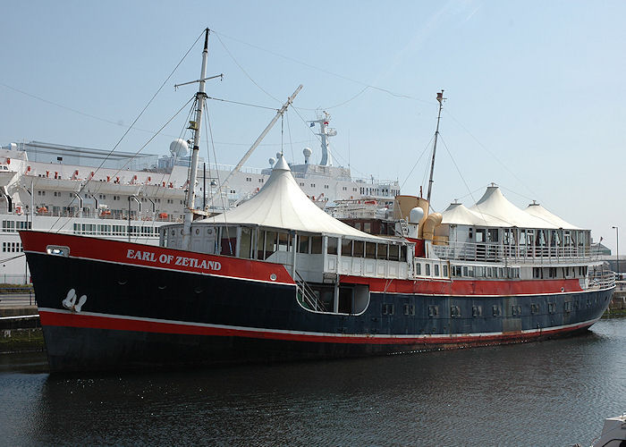 Earl of Zetland pictured at Royal Quays, North Shields on 6th May 2008