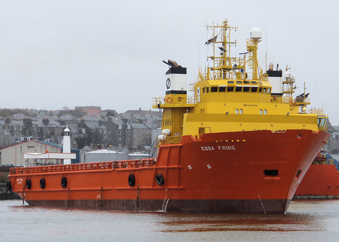 Edda Frigg pictured at Aberdeen on 17th April 2012