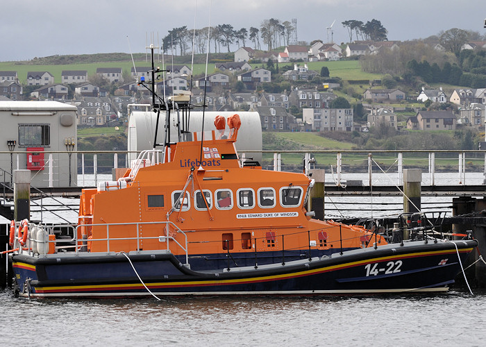 Edward Duke of Windsor pictured at Broughty Ferry on 18th April 2012