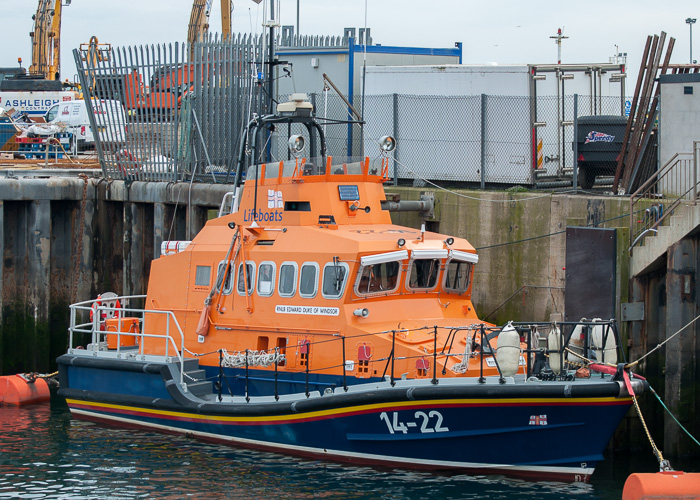 Edward Duke of Windsor pictured at Fraserburgh on 5th May 2014
