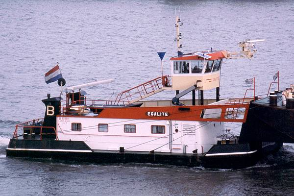 Egalite pictured in Rotterdam on 16th June 2002