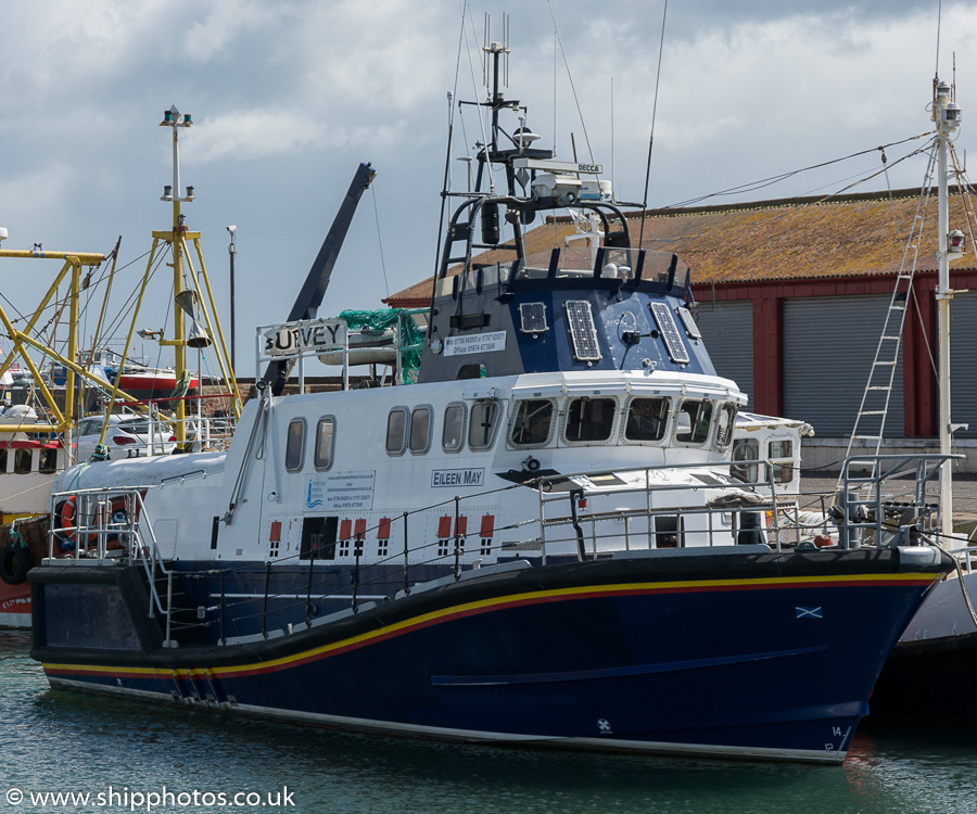 Eileen May pictured at Arbroath on 17th May 2015